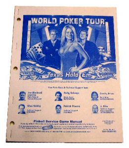 Pinball Life: Stern World Poker Tour Manual